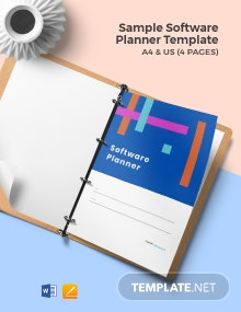Free Sample Software Planner Template