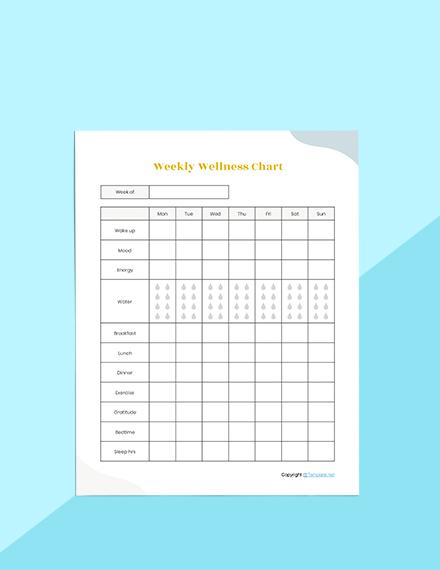 Editable Self Care Planner Sample