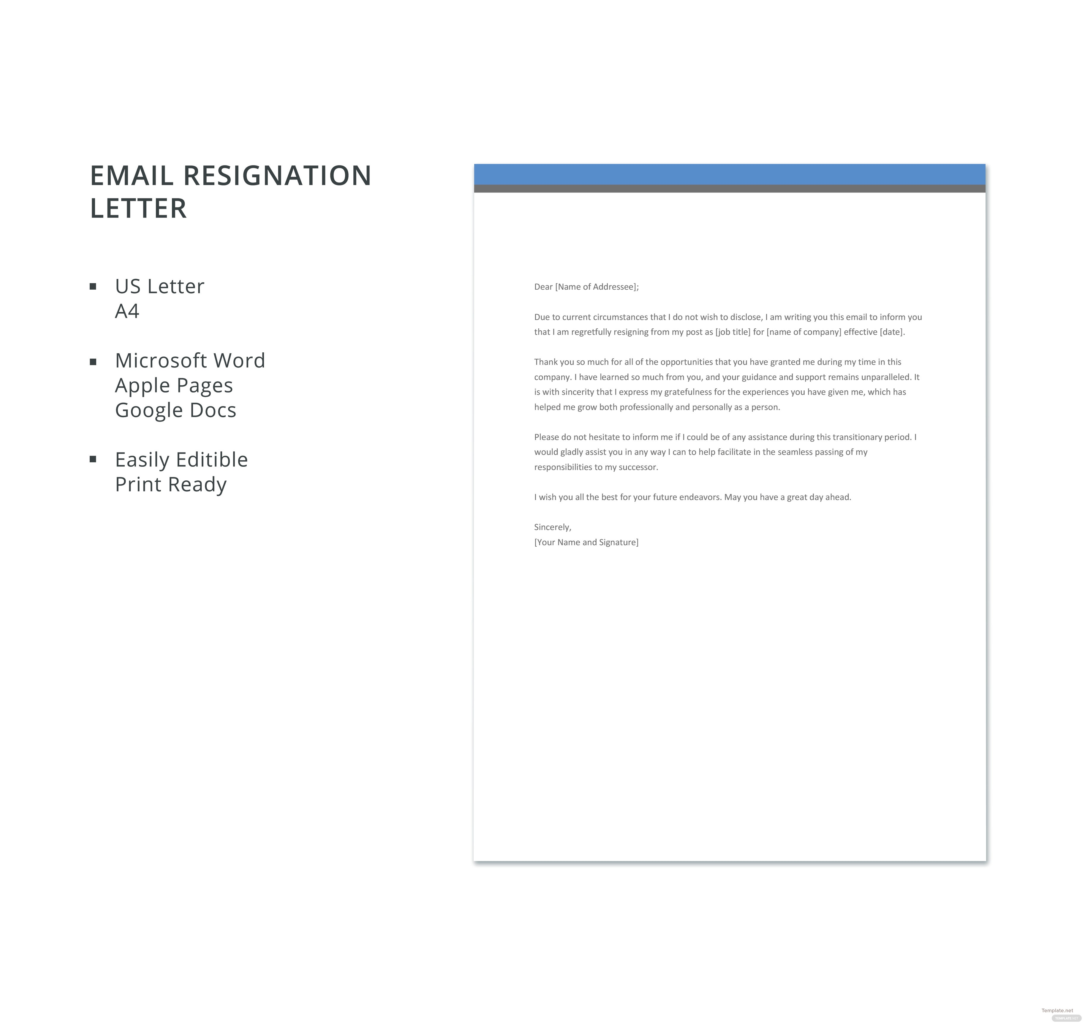 Email resignation letter template in microsoft word apple pages click to see full template email resignation letter spiritdancerdesigns Images