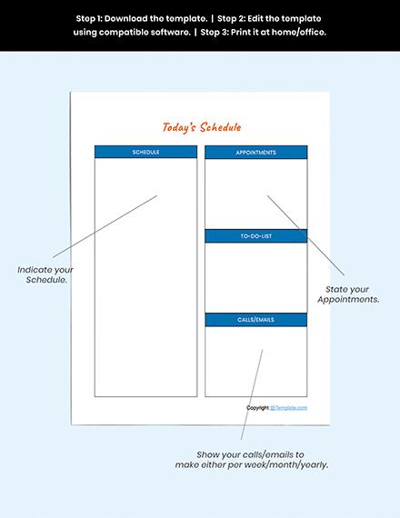 Sample Preschool Planner Guide