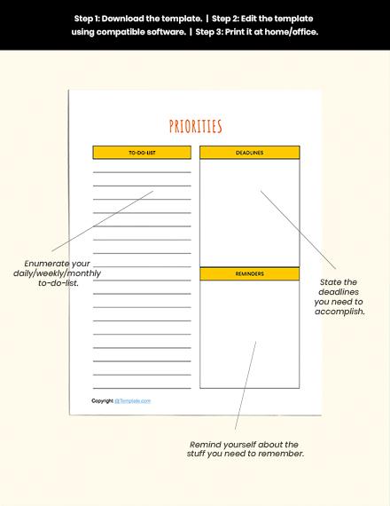 Basic Preschool Planner Guides