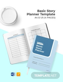 Free Basic Story Planner Template