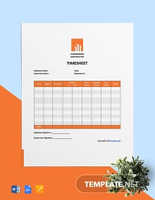 Free Printable Construction Timesheet Template