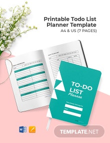 Free Printable To Do List Planner Template