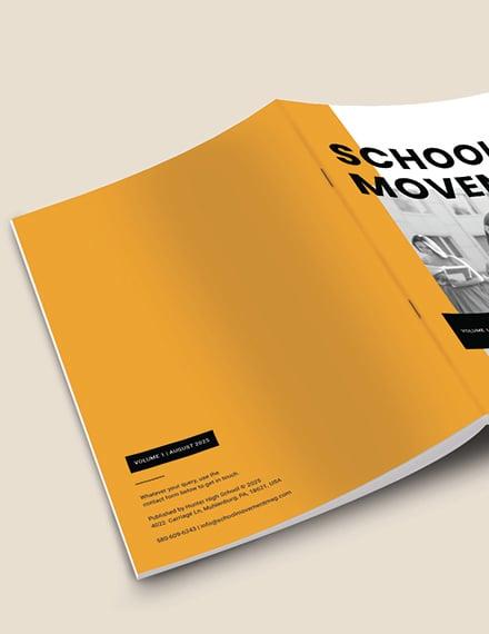 Sample Modern School Magazine