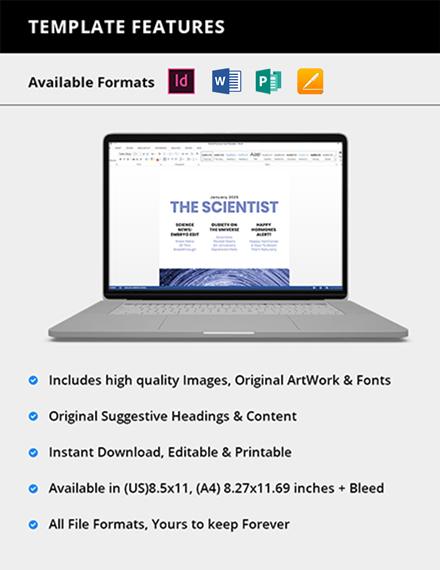 Simple Modern Science Magazine