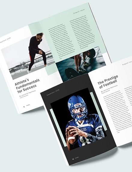 Modern Sports Magazine Download