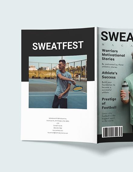 Sample Modern Sports Magazine