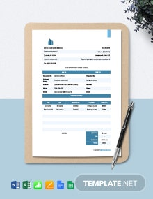 Free Printable Construction Work Order Template