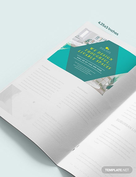 Interior Design Magazine Ads Example