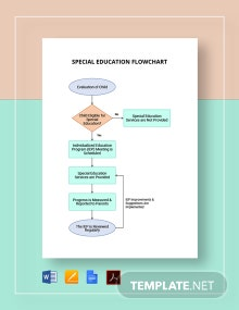 Special Education Flowchart Template