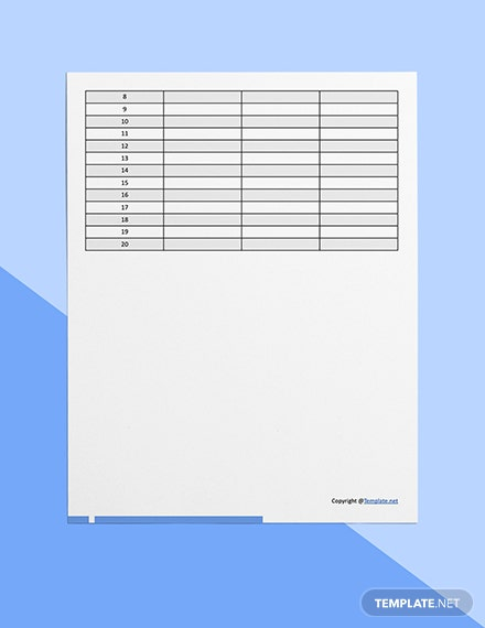 Simple  Construction Form Template Download
