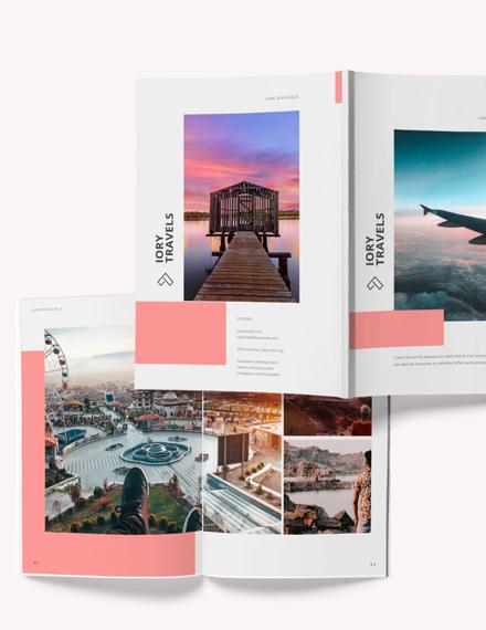 Sample Travel Photography Magazine