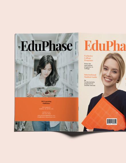 Sample University Magazine