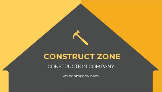 Basic Construction Business Card Template.jpe