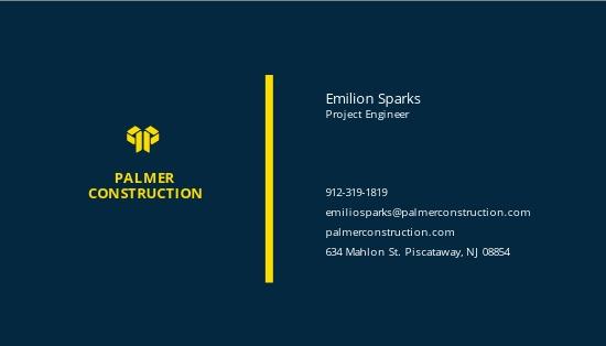 Sample Construction Business Card Template 1.jpe