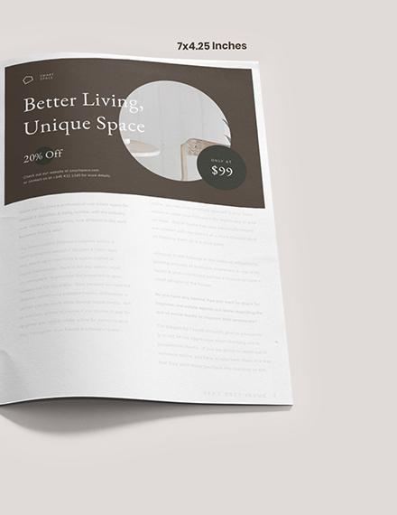 Sample Layout Interior Design Magazine Ads