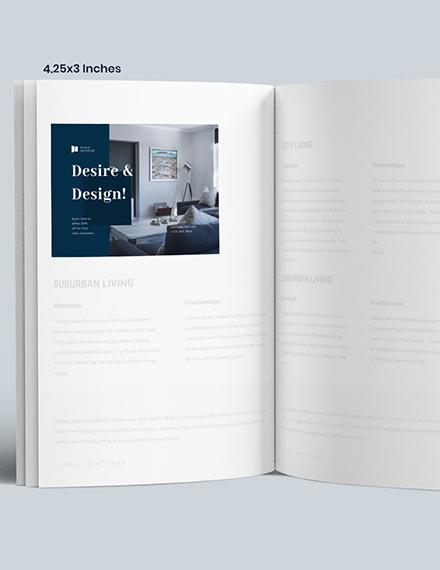 Luxury Interior Design Magazine Ads Template [Free PSD] - InDesign