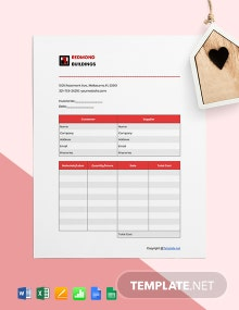 Free Editable Construction Invoice Template