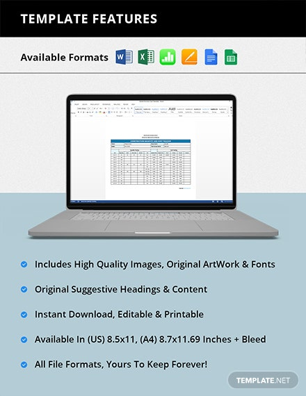 Basic Construction Tracking Template [Free Google Docs] - Google Sheets, Excel, Word, Apple Numbers, Apple Pages