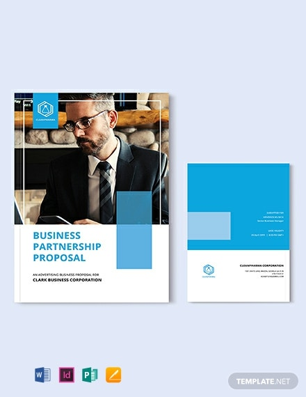 FREE Business Partnership Proposal Template - Word | PSD