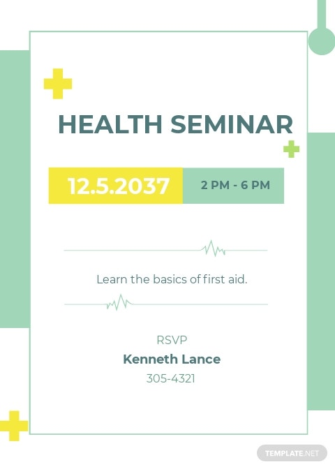 Health Seminar Invitation Template .jpe