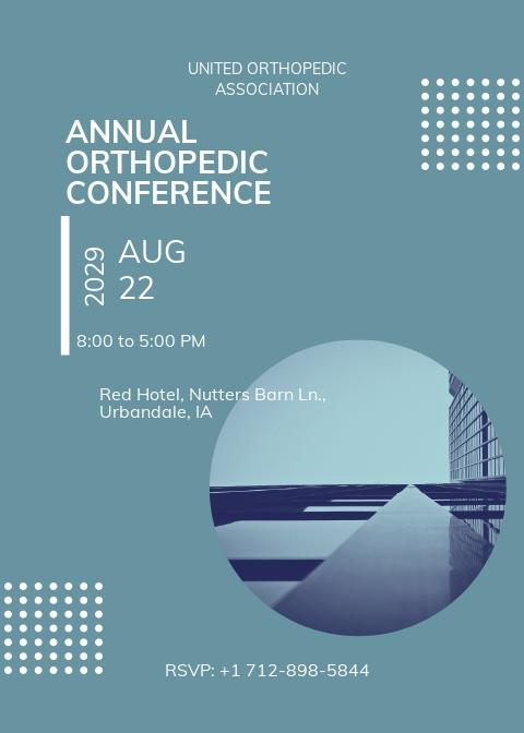 Healthcare Conference Invitation Template