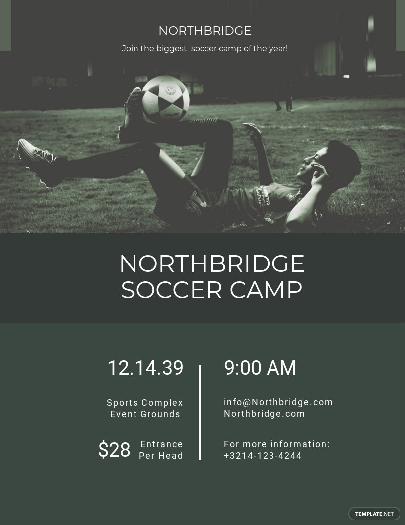 Soccer Camp Flyer Template.jpe