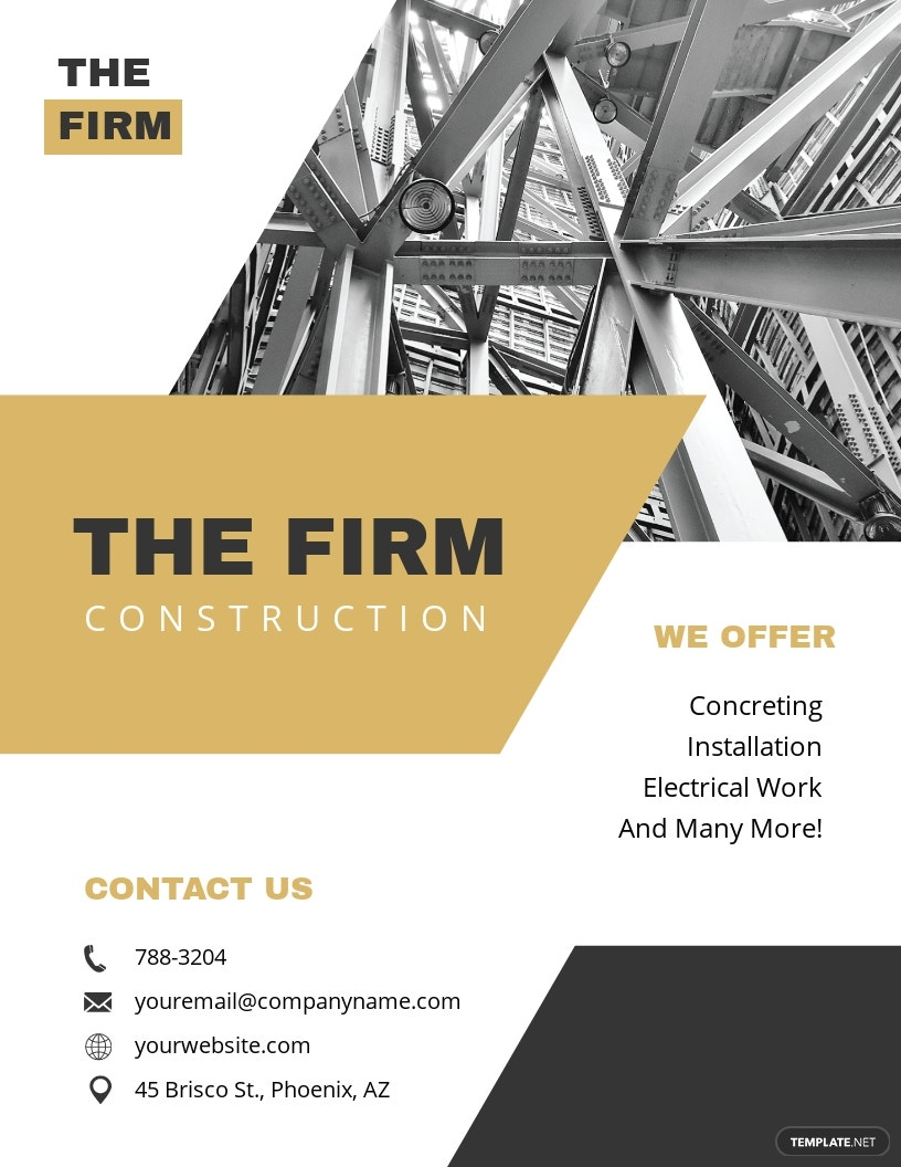 Free Printable Construction Flyer Template.jpe