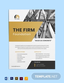 Free Printable Construction Flyer Template