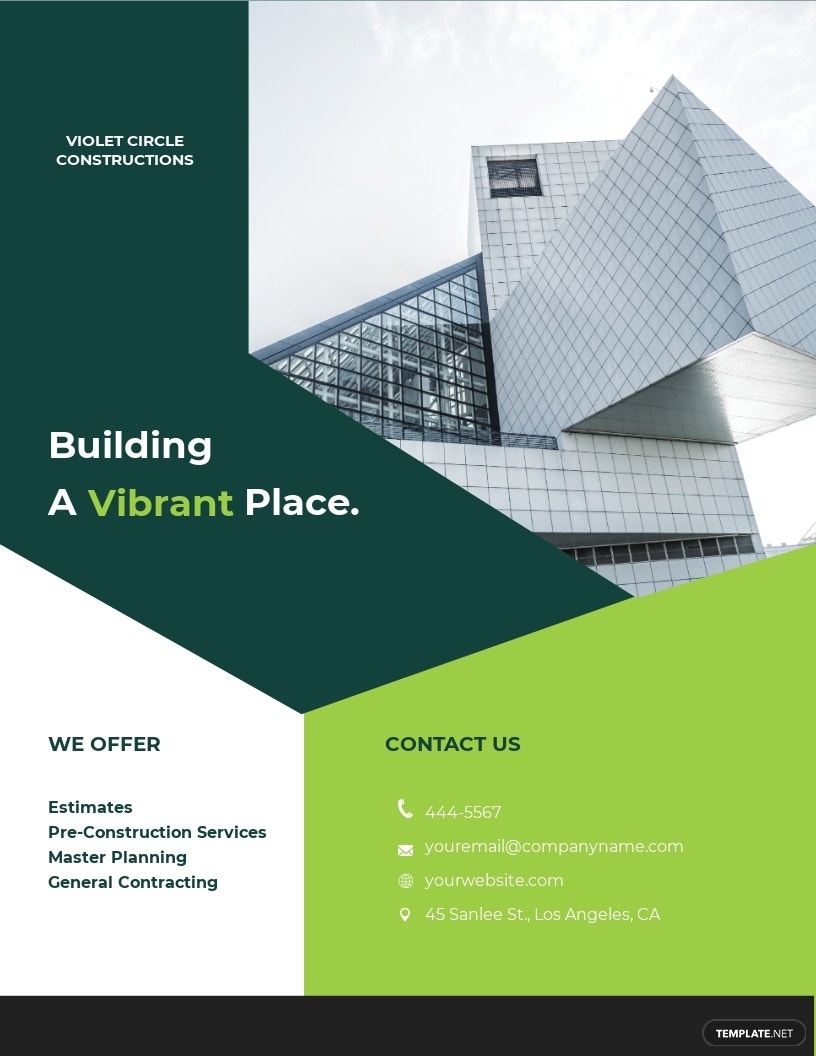 Free Simple Construction Flyer Template.jpe