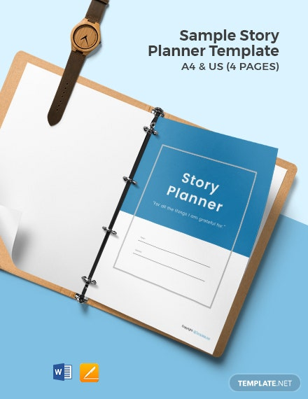 Free Sample Story Planner Template