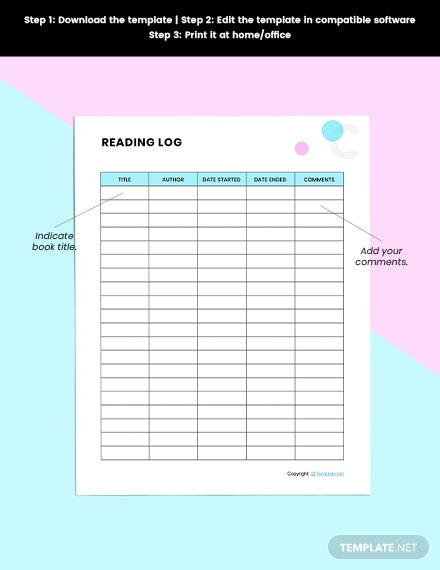 Basic Book planner Download