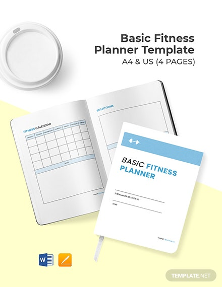 Basic Fitness Planner Template