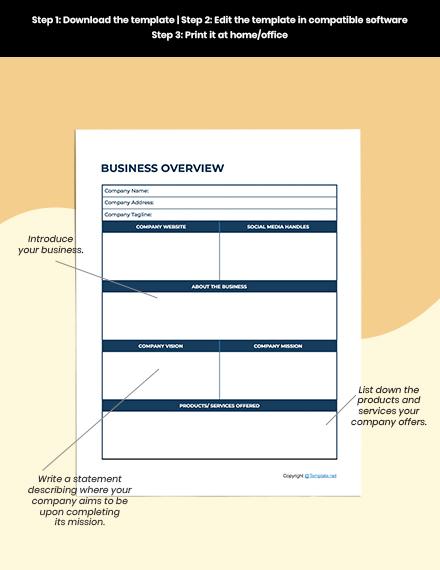 Simple Marketing Planner Download