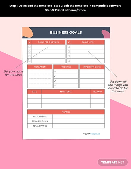 Simple Journal Planner Printable