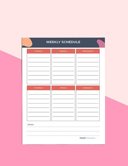 Simple Journal Planner Sample
