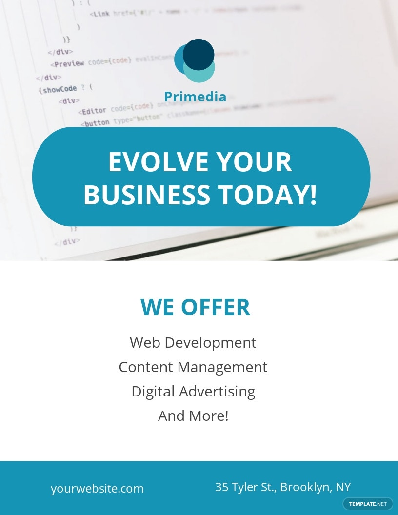 Free Business Services Flyer Template.jpe