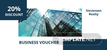 Free Business Voucher Template