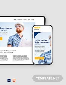 Engineers Website Template