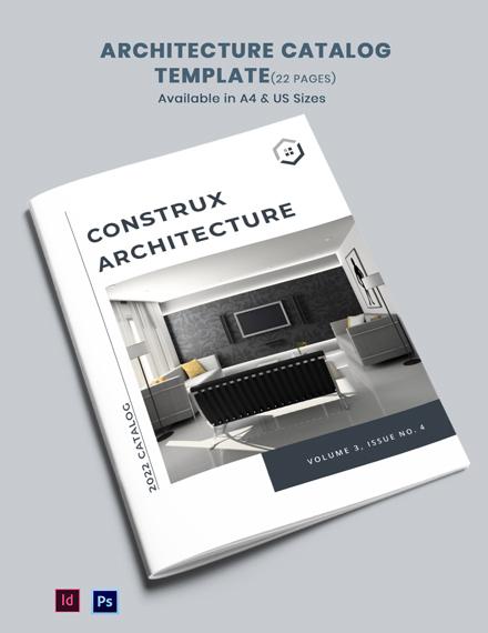 Architecture Catalogue Template