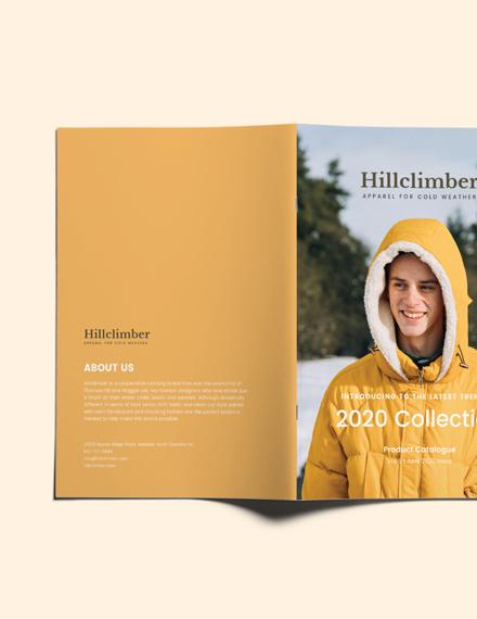 Sample Fashion Product Catalogue
