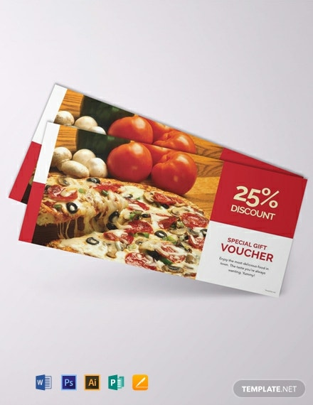 Free Lunch Voucher Template