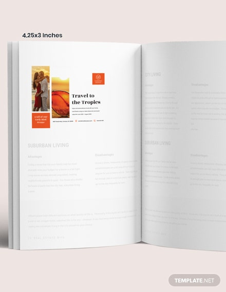 Simple Travel Magazine Ads Layout