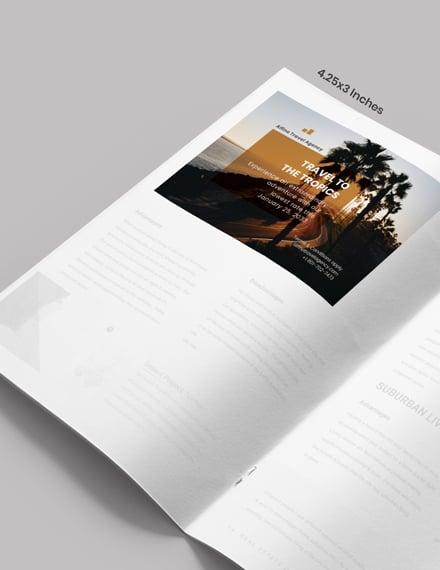 Sample Travel Magazine Ads
