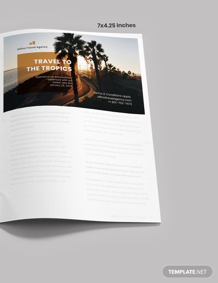 Simple Travel Magazine Ads