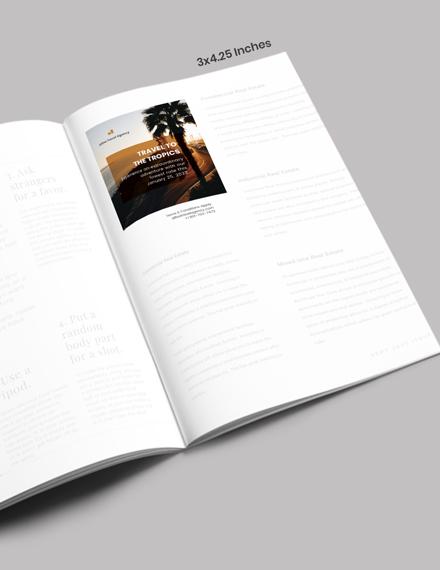 Travel Magazine Ads Download