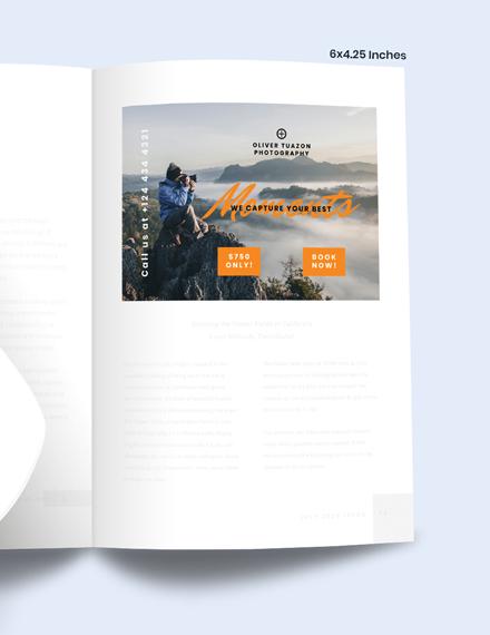 Sample Travel Photographer Magazine Ads