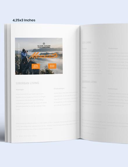 Simple Travel Photographer Magazine Ads