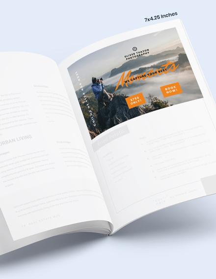 Travel Photographer Magazine Ads Download